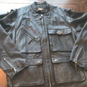 Harley Davidson Men's Leather Vest/Jacket
